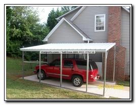 Photos directory tnt metal carports for Boat garage kits